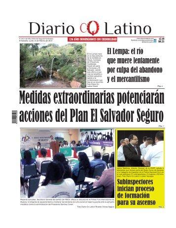 Edición 13 de Febrero de 2017