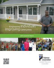 2011 Annual Report - Telamon Corporation