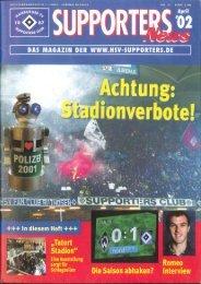 Ausgabe 31 04/2002 - HSV-Supporters