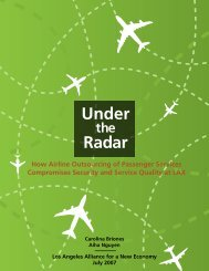 Under Radar - The Partnership For Working Families