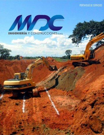 PORTAFOLIO MDC INGENIERIA Y CONSTRUCCIONES