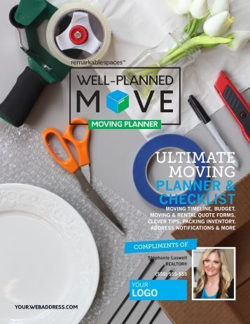 Well-Planned Move - Moving Planner - BRANDING