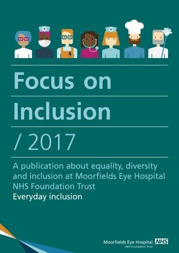 Focus on Inclusion