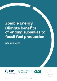 Zombie Energy Climate benefits of ending subsidies to fossil fuel production