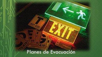 planes de Evacuacion