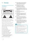 Philips Streamium Chaîne sans fil pour Android™ - Mode d'emploi - FIN - Page 3