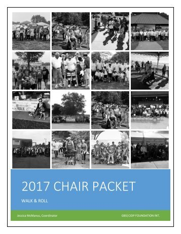 2017 CHAIR PACKET
