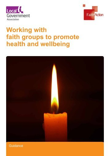Working with faith groups to promote health and wellbeing