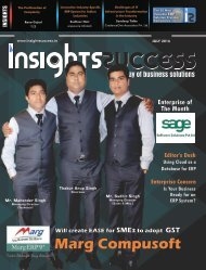 Insights Success The 10 Fastest Growing ERP Solution Providers 2016