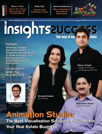 Insights Success The 10 Most Creative Animation Companies