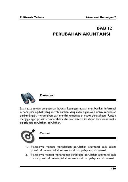 Bab 12 Akuntansi Keuangan 2 Pdf Politeknik Telkom