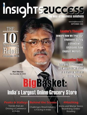 Insights success The 10 Fastest Growing Retail Companies 2016