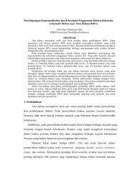 Semiloka BIPA - Direktori File UPI - Universitas Pendidikan Indonesia