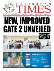 Caribbean Times 97th Issue - Tuesday 14th February 2017