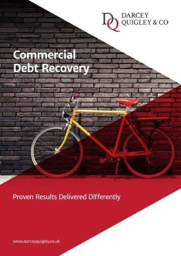 DQ Commercial Debt Recovery Delivered Differently Brochure