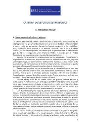 CÁTEDRA DE ESTUDIOS ESTRATÉGICOS