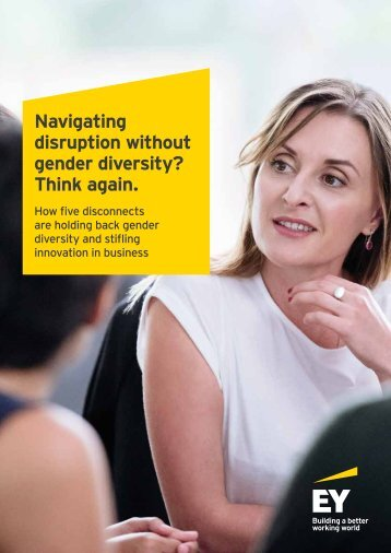 Navigating disruption without gender diversity? Think again