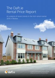 The Daft.ie Rental Price Report