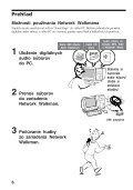 Sony NW-E103 - NW-E103 Istruzioni per l'uso Slovacco - Page 6