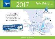 Fahrplanheft allgaeumobil 2017