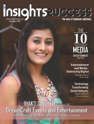 Insights Success The 10 Fastest Growing Media and Entertainment Companies