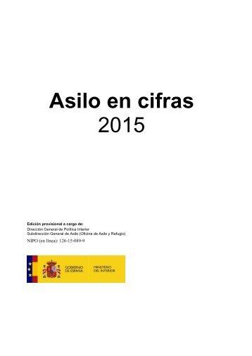 Asilo en cifras 2015