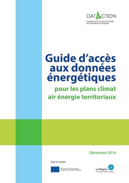 Guide d'accès aux données énergétiques