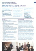 Emerging Leaders and Leadership Training - Page 3