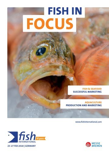 Fish in focus - Germany's fish fair