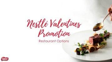 Nestlé Valentines Promotion