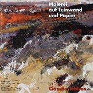 Malerei auf Leinwand und Papier Claudia Tebben ... - CJD Bonn