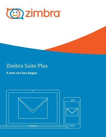 Zimbra Suite Plus
