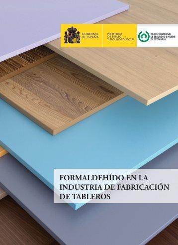 FORMALDEHÍDO EN LA INDUSTRIA DE FABRICACIÓN DE TABLEROS