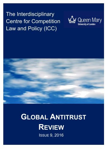 GLOBAL ANTITRUST REVIEW