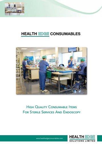 Health Edge Consumables Brochure