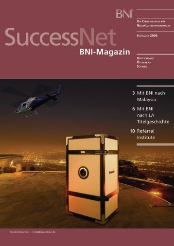 BNI-Magazin 3 - Bni in