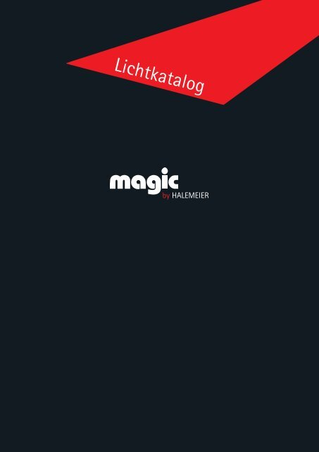 Lichtkatalog Magic by Halemeier