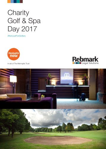 Charity Golf & Spa Day 2017