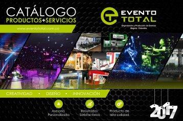 Catálogo Productos y Servicios Evento Total