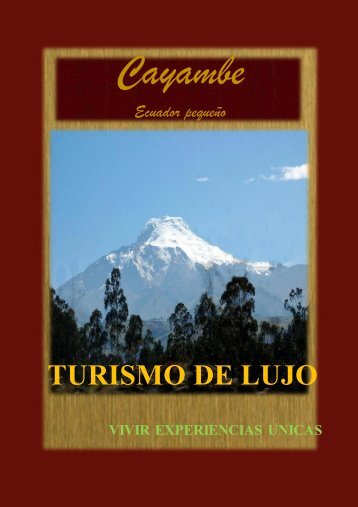 GUIA CAYAMBE FINAL