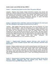 Soalan-soalan Lazim (FAQ) Unit Gaji, HRPZ II Soalan 1 : Siapakah ...