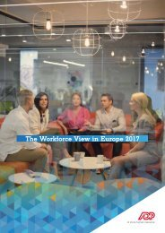 The Workforce View in Europe 2017