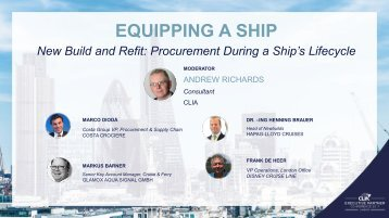 Equipping a Ship - New Build and Refit, Procurement During a Ship's Lifecycle