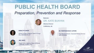 Public Health Aboard - Prepation, Prevention and Response