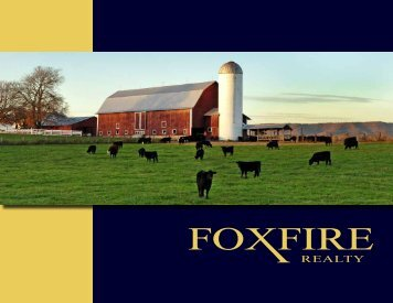 Why Foxfire? Foxfire Realty Marketing Brochure