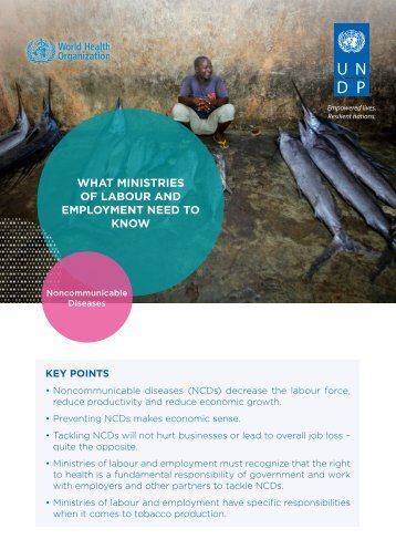 WHAT MINISTRIES OF LABOUR AND EMPLOYMENT NEED TO KNOW