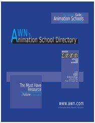 Animation School Directory - Animation World Network