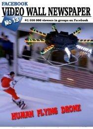 Video wall newspaper for Facebook №13 EN