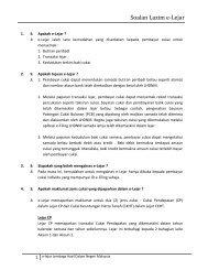 Soalan Lazim e-Lejar - Lembaga Hasil Dalam Negeri