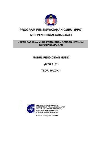 program pensiswazahan guru (ppg) - IPG Kampus Darulaman